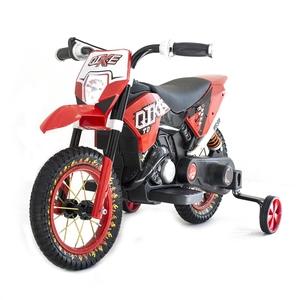 Qike TD Red 6V - QK-3058-RED. Детский мотоцикл на резиновых колесах.