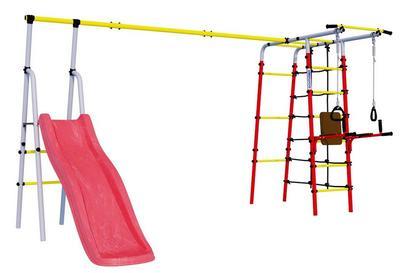Romana Богатырь Плюс (R 103.12.04). Спортивно-игровой детский комплекс для улицы.