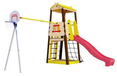 Romana Избушка (R 103.29.04). Детская игровая площадка-домик для дачи.