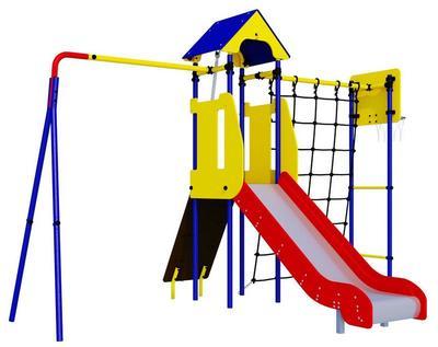 Romana Замок (R 103.30.04). Дачный игровой комплекс для детей.