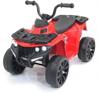 Детский квадроцикл R1 6V - 3201-RED на резиновых колесах.