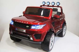 Полноприводный двухместный электромобиль RANGE A111MP (4*4) на резиновых колесах