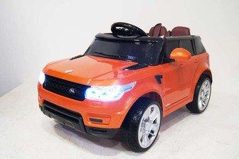 Электромобиль-джип RANGE E004EE на резиновых колесах