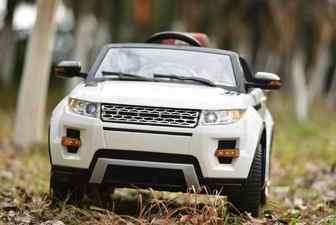 Детский электромобиль Range Rover A111AA VIP на резиновых колесах