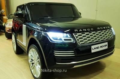 Range Rover HSE 4WD. Детский двухместный джип на резиновых колесах.