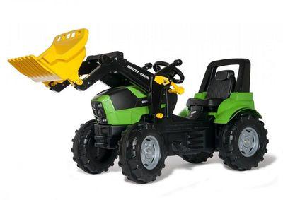 Rolly Toys 710034. Детский педальный трактор с ковшом.