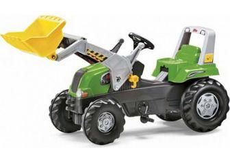 Rolly Toys rollyJunior RT 811465. Детский педальный погрузчик.