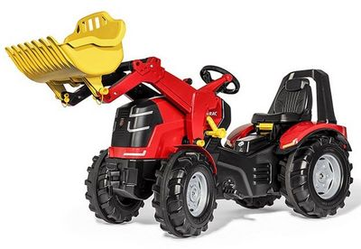 Rolly Toys rollyX-Trac Premium 651016. Детский педальный трактор с ковшом.