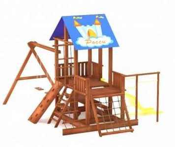 """Детский игровой комплекс для дачи """"Росинка-4""""."""