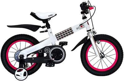 "Детский велосипед RoyalBaby Buttons Steel 14"""