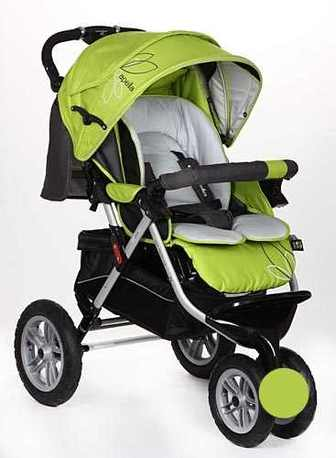 """Прогулочная, трехколесная, детская коляска CapellaS-901WF AIR """"СИБИРЬ"""""""