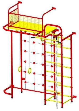 Пионер - С6С. Детский спортивный комплекс с чердаком. Пристенный.