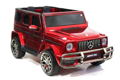 Mercedes-AMG G63 4WD S307. Двухместный полноприводный автомобиль на резиновых колесах.