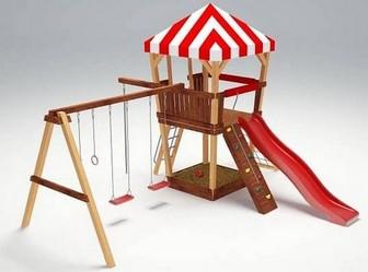 """Детский деревянный городок для улицы """"Савушка 12"""""""