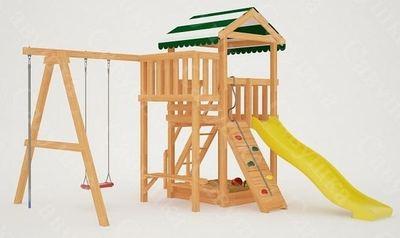 Савушка Мастер - 1. Детская площадка с горкой.