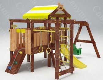 Савушка-Baby - 11 (Play). Деревянная детская площадка.