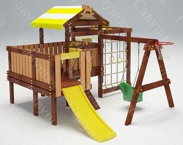 Савушка-Baby - 14 (Play). Деревянная игровая площадка.