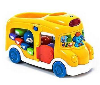 Vtech Школьный автобус. Интерактивная игрушка 2в1.