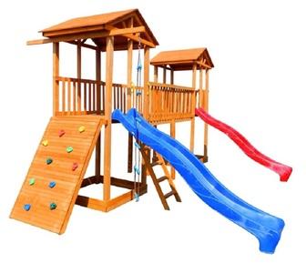Детская площадка Можга Спортивный  городок 6 с широким скалодромом