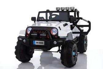 Детский электромобиль Jeep SH888 на резиновых колесах