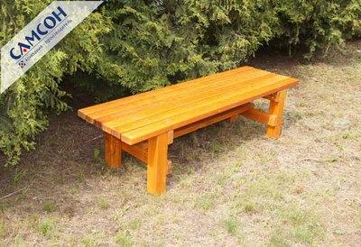 Деревянная скамейка Самсон.