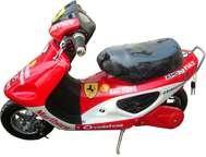 Бензиновый скутер мопед LMOOX-R3-Bike 350W.