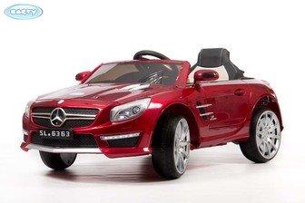 Электромобиль BARTY Mercedes SL63 AMG на резиновых колесах