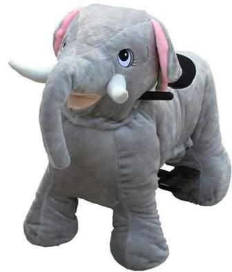 Зоомобиль Слон с монетоприемником