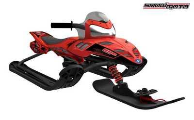 Снегокат Snow Moto Polaris Dragon Red 35082