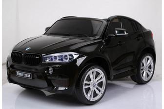 Детский внедорожник BMW X6 двухместный на резиновых колесах