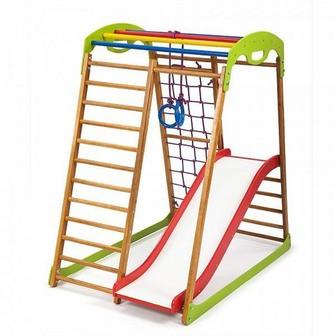 Детский спортивный комплекс для дома «BabyWood Plus 1»