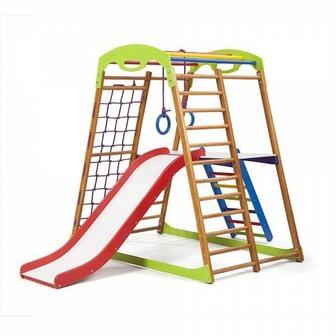 Детский спортивный комплекс для дома «BabyWood Plus 2»