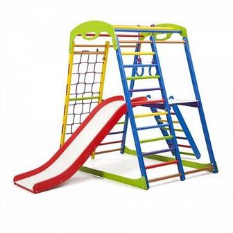 Детский спортивный комплекс для дома «SportWood Plus 2»