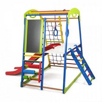 Детский спортивный комплекс для дома «SportWood Plus 3»