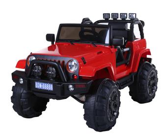 Полноприводный электромобиль-джип BARTY T010MP на резиновых колесах