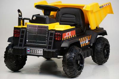 RiverToys Камаз самосвал T090TT. Детский автомобиль на резиновых колесах.