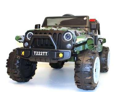 T222TT. Детский автомобиль на резиновых колесах.