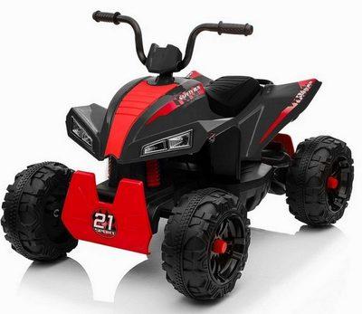 Детский квадроцикл T555TT на резиновых колесах.