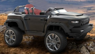 Детский электромобиль HENES Т8 Sports LI-4WD с литиево-ионным аккумулятором 24V
