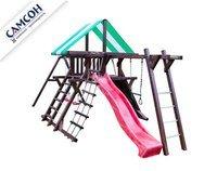 Детская деревянная игровая площадка Самсон «Таити».