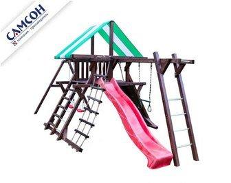 Детская спортивно-игровая деревянная площадка Самсон «Таити».