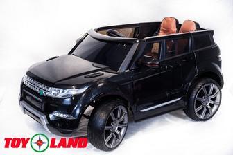 Детский электромобиль-джип Toyland Range Rover 0903 на больших резиновых колесах