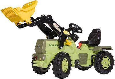 Rolly Toys Farmtrac MB Trac 1500 046690. Детский педальный погрузчик.