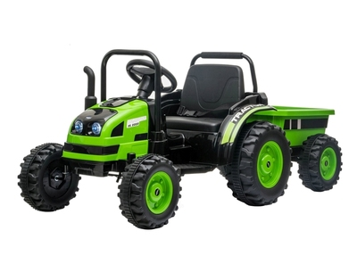 BARTY TR001. Электромобиль-трактор с прицепом.