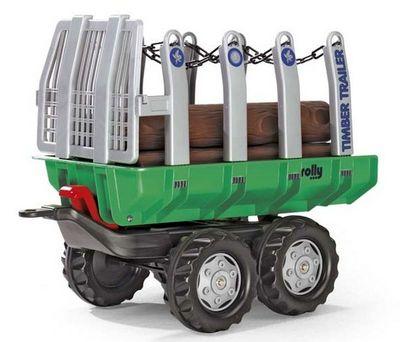 Rolly Toys 122158 Kid Fendt. Прицеп-самосвал к педальному трактору.