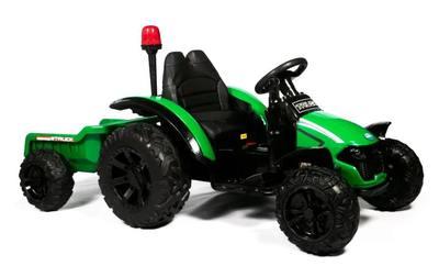 Barty TR 99. Электромобиль-трактор с прицепом.