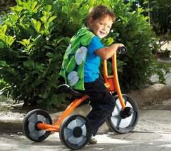 Трехколесные детские велосипеды.