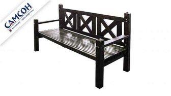 Деревянная трехместная скамейка Самсон.