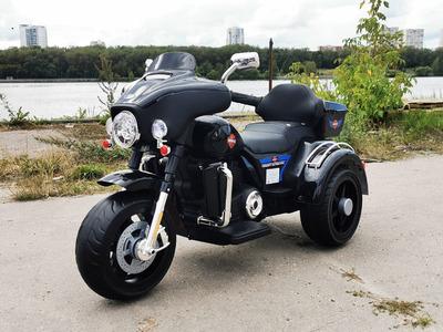 Детский Трицикл Harley-Davidson YBD 7173 на резиновых колесах