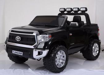 Детский электромобиль Toyota Tundra на пластиковых колесах
